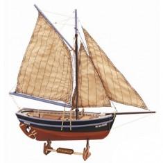 Maquette bateau en bois : Bon Retour