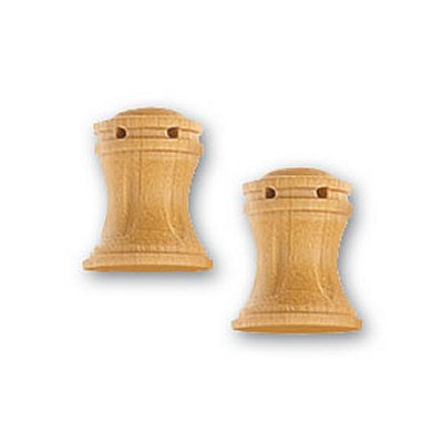 Accessoire pour maquette de bateau en bois : Cabestan en bois vertical 10 mm - Artesania-8578