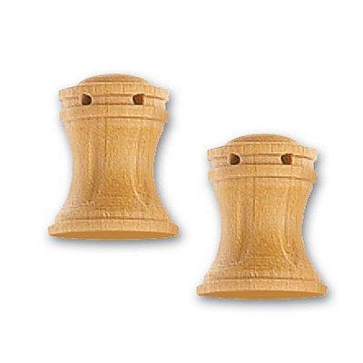 Accessoire pour maquette de bateau en bois : Cabestan en bois vertical 16 mm  - Artesania-8579