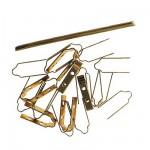 Accessoire pour maquette de bateau en bois : Charnière en laiton 20 mm