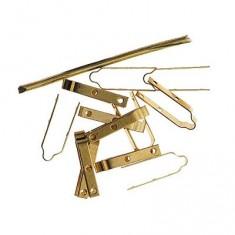 Accessoire pour maquette de bateau en bois : Charnière en laiton 30 mm
