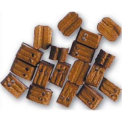 Accessoire pour maquette de bateau en bois : Double poulie 5 mm : Nogal - Artesania-8526