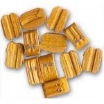 Accessoire pour maquette de bateau en bois : Double poulie 6 mm