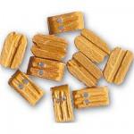 Accessoire pour maquette de bateau en bois : Double poulie 7 mm