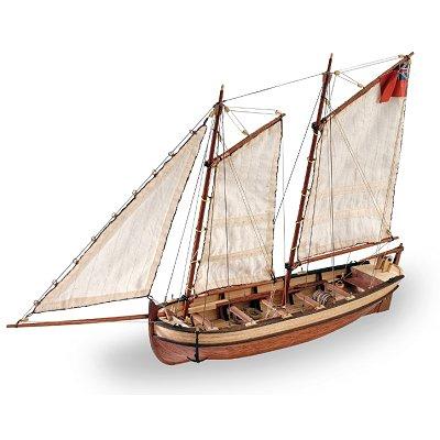 Maquette bateau en bois : Endeavour's Longboat - Artesania-19015
