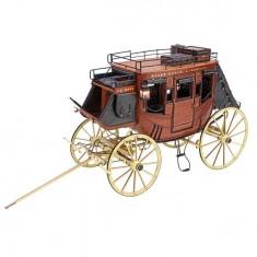 Maquette en bois et métal: Collection Heritage: Diligence 1848