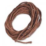 Accessoire pour maquette de bateau en bois : Fil de coton marron ø 2 mm