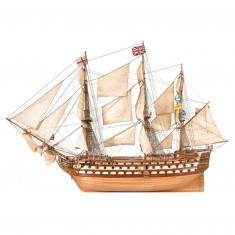 Maquette bateau en bois : H.M.S Victory