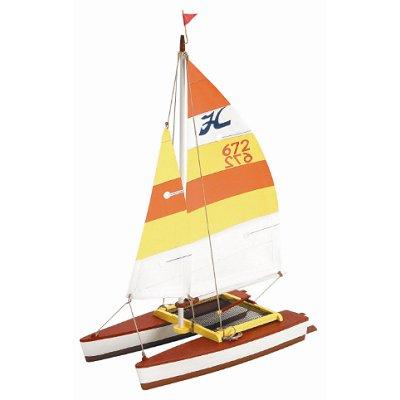 Maquette de bateau en bois: Kit d'initiation: Hobie Cat - Artesania-30502