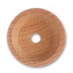 Accessoire pour maquette de bateau en bois : Hune de trinquet ø 35mm