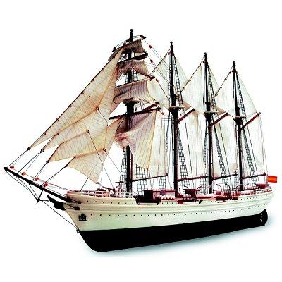 Maquette bateau en bois : J.S. Elcano : Easy hobby - Artesania-22255