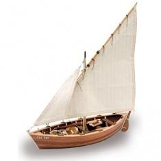 Maquette bateau en bois : La Provençale : Bateau de pêche des côtes de Provence