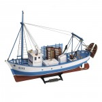 Maquette bateau en bois : Mare Nostrum