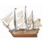 Maquette bateau en bois : Navio Santa Ana