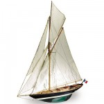 Maquette bateau en bois :  Pen Duick