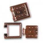 Accessoire pour maquette de bateau en bois : Porte canons  13 x 13 mm