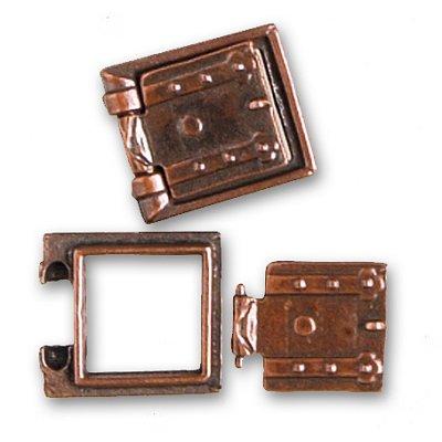 Accessoire pour maquette de bateau en bois : Porte canons  13 x 13 mm - Artesania-8717