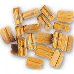 Accessoire pour maquette de bateau en bois : Poulie 6 mm