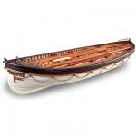 Maquette bateau en bois : Canot de sauvetage du RMS Titanic