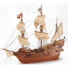 Maquette bateau en bois : San Juan Gallion XVIè siècle