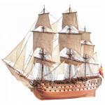 Maquette bateau en bois : San Juan Nepomuceno