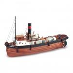 Maquette bateau en bois : Sanson