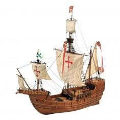 Maquette bateau en bois : Santa Maria