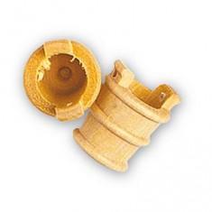 Accessoire pour maquette de bateau en bois : Seau en bois ø 12 mm