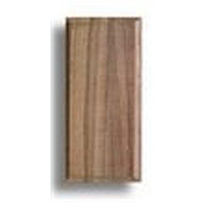 Socle pour maquette en bois nogal 130 x 60 x 10 mm for Socle pour poele a bois