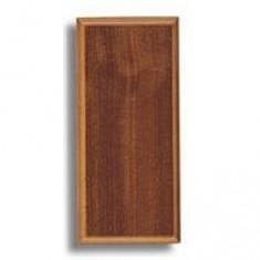 Socle pour maquette en bois: Sapelly: 235 x 106 x 16 mm