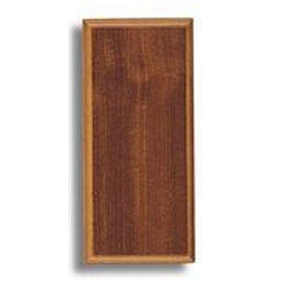Socle pour maquette en bois sapelly 235 x 106 x 16 mm for Socle pour poele a bois