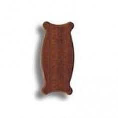 Socle pour maquette en bois: 130 x 60 x 8 mm