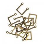 Accessoire pour maquette de bateau en bois : Support 7 x 9 mm : U