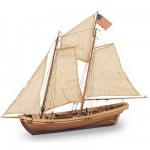 Maquette bateau en bois : Swift