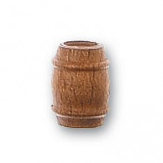 Accessoire pour maquette de bateau en bois : Tonneau en bois ø 8 mm : Nogal