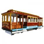 Maquette en bois : Tramway de San Francisco : California Street