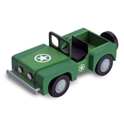 Maquette voiture : Mon premier kit en bois : Jeep - Artesania-30510