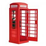 Maquettes en bois et métal: Heritage collection : Cabine téléphonique anglaise