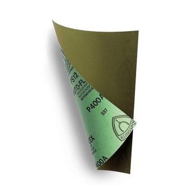Papier abrasif : Set de 4 papiers fins : Vert - Artesania-27636