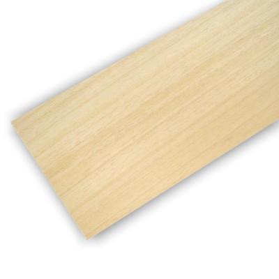 Planche en bois de balsa : 100 x 1000 x 2.5 mm - Artesania-90025