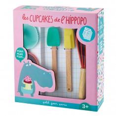Coffret pâtisserie : Les cupcakes de l'Hippopo