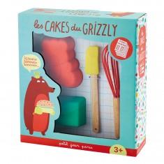 Coffret pâtisserie : Les cakes du Grizzly