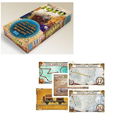 Les Aventuriers du Rail : Extension USA 1910 - Asmodee-AVE11