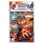 Pokémon : Pack cahier range-cartes + Booster Pokémon XY Primo-Choc