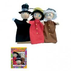 Marionnette Coffret Trio marionnettes : Pinocchio
