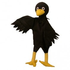 Marionnette Corbeau