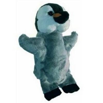 peluche marionnette pingouin jeux et jouets au sycomore avenue des jeux. Black Bedroom Furniture Sets. Home Design Ideas