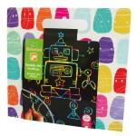 Pochette créative : Scratch Art Grattage