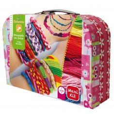 Valisette Maxi kit : Bracelets en folie