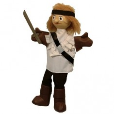 Marionnette Pirate : Zach le Corsaire